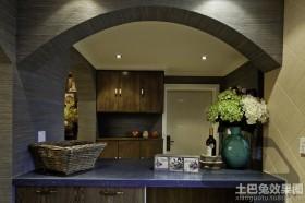 日式风格厨房台面图片