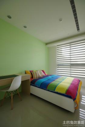 简约风格儿童卧室装修效果图大全