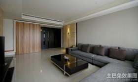 简约风格大客厅装修效果图欣赏