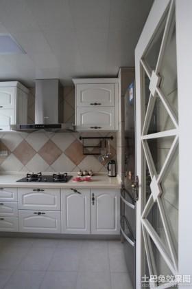 田园风格厨房装修效果图大全