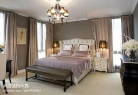 2013欧式卧室窗帘图片