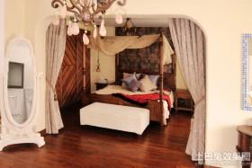 地中海混搭风格卧室装修效果图大全