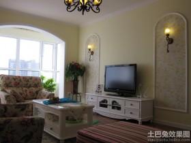 客厅电视组合柜装修效果图欣赏