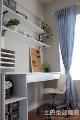 小户型家居装修书房图片大全