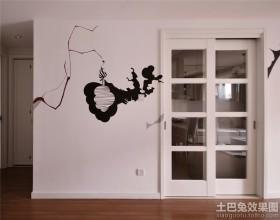 家装壁柜装饰效果图