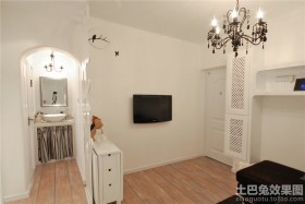 两室一厅电视背景墙装修效果图