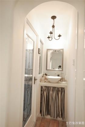 洗手间吊灯装修效果图欣赏