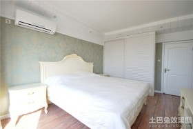 卧室整体衣柜装修效果图片