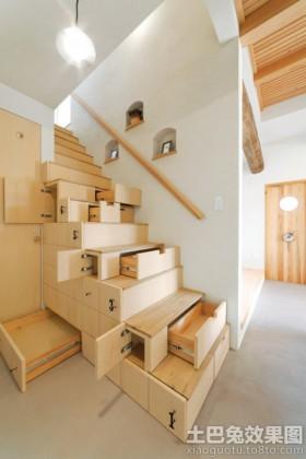 简约楼梯柜装修效果图
