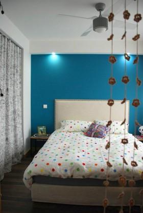 小户型宜家卧室背景墙设计效果图