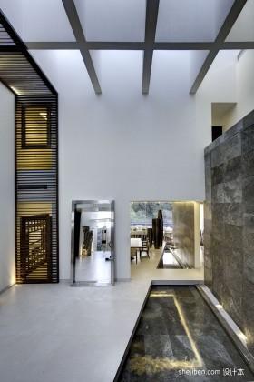 现代风格别墅室内装修效果图片