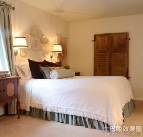 美式卧室led壁灯图片