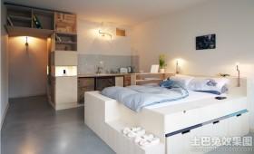 30平米单身公寓装修设计图