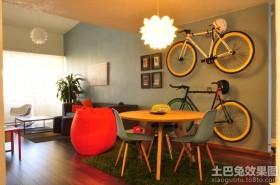后现代风格单身公寓装修设计图
