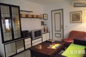 单身公寓装修设计效果图