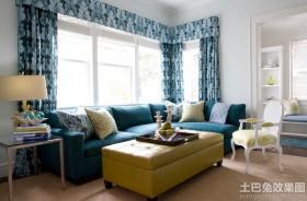 现代风格家用转角沙发图片