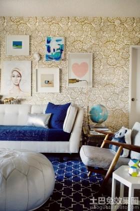 2013客厅装饰壁纸贴图
