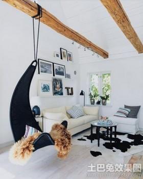 欧式室内吊椅图片