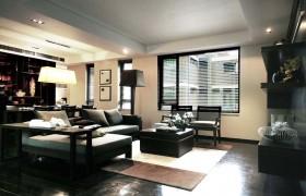 现代80平米小户型客厅装修效果图欣赏