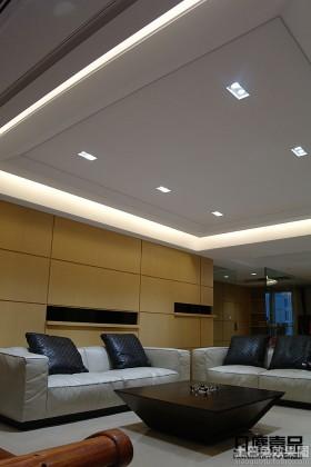现代风格客厅天花板LED射灯图片