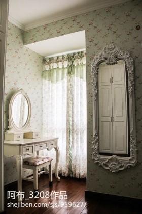 欧式卧室梳妆台效果图
