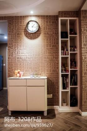 现代风格墙纸效果图片