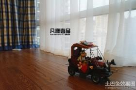 室内实木地板效果图