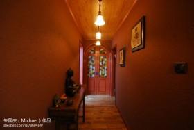 东南亚风格走廊过道吊灯装饰