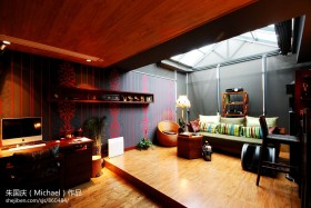 东南亚风格家庭休闲区装修效果图