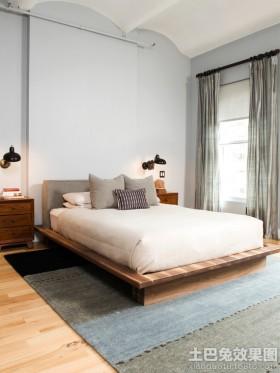 1.5米榻榻米床效果图