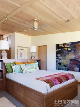 阁楼1.5米床效果图