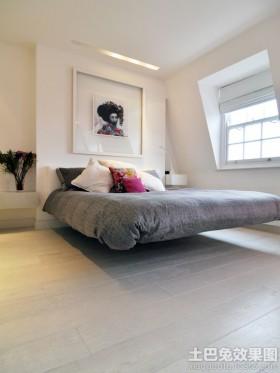 宜家风格卧室1.5米床效果图