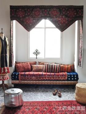 休闲区布艺沙发套图片欣赏