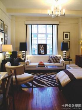 一居室小户型客厅装修图欣赏
