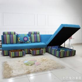 多功能高级折叠沙发床图片