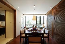 东南亚风格餐厅装修效果图2013图片