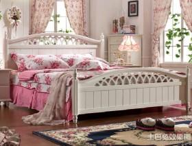 田园卧室1.8米床效果图