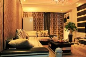 现代家装小户型客厅图片