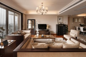 80平米小户型装修现代简约客厅效果图大全