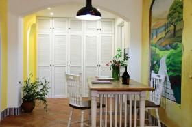 餐厅手绘背景墙装修效果图欣赏