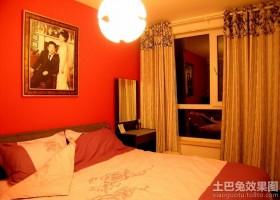 现代婚房卧室装修效果图片2013