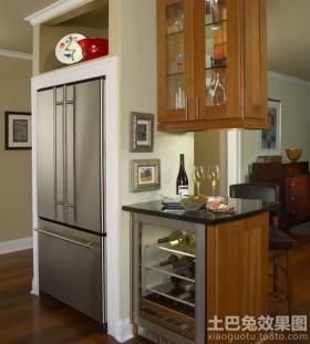 厨房酒柜隔断效果图欣赏