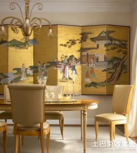 中式风格家居屏风效果图欣赏
