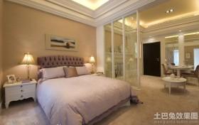 卧室欧式屏风效果图