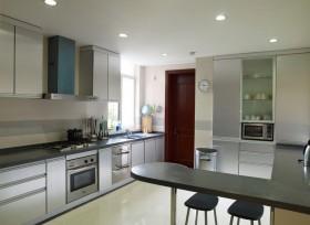 开放式厨房吧台装修效果图大全