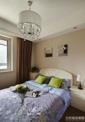 简约风格小卧室装修效果图片大全