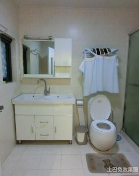 简约风格小面积卫生间装修图片
