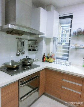 简约小型整体厨房装修效果图