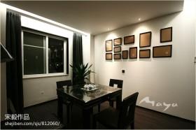 现代风格餐厅背景墙装饰画图片