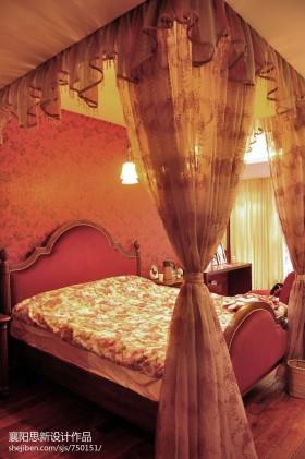 温馨主卧室装修效果图片